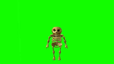 ROBLOX Green Screen - Spooky Scary Skeletons - YouTube