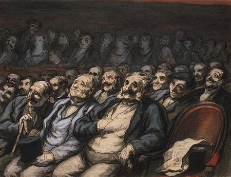 Orchestra Seat - Honore Daumier - Hermitage Museum
